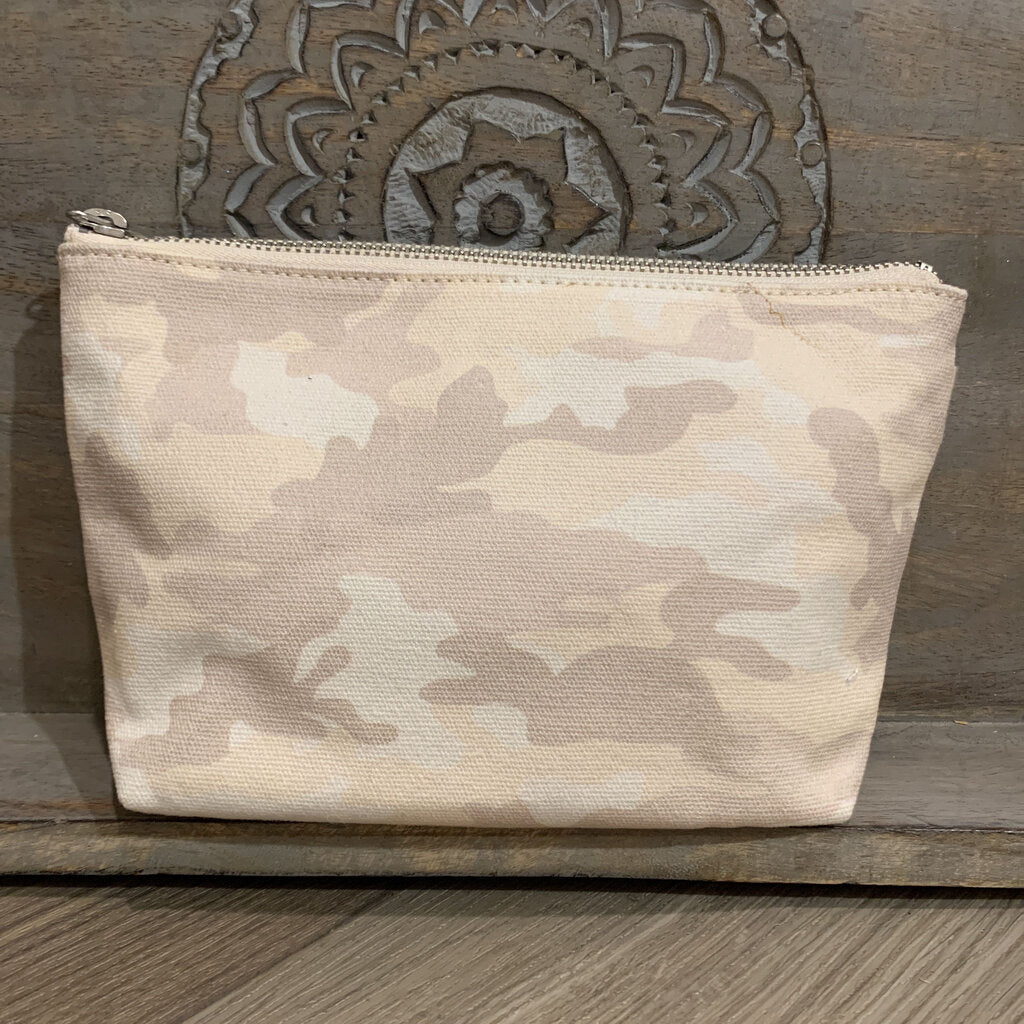 Small Camo Makeup Bag