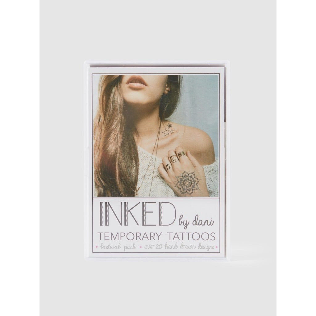 Inked by Dani Festival Temporary Tattoos