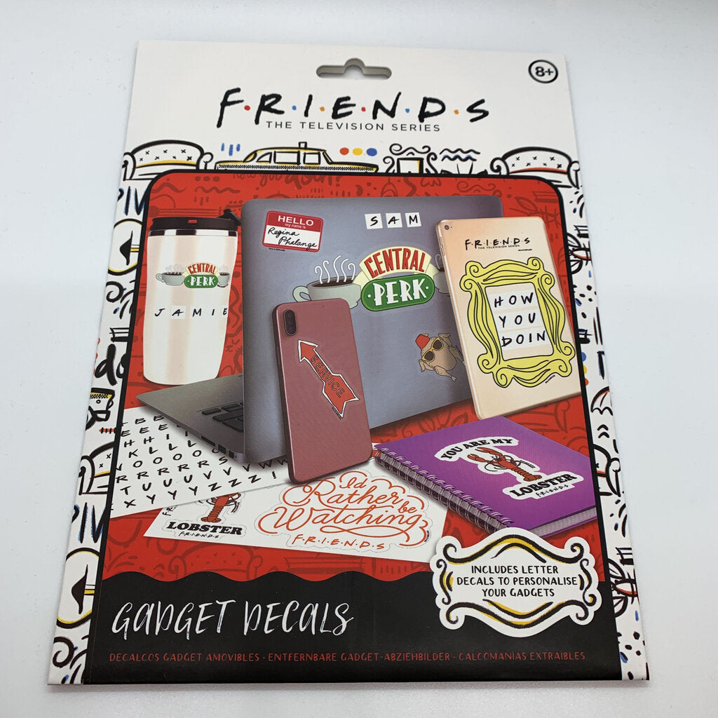 Friends Gadget Decals