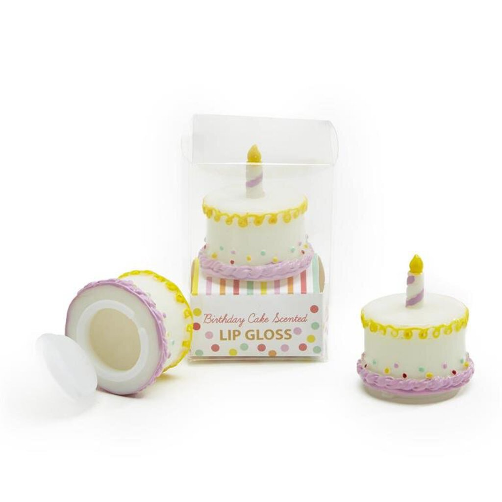 Birthday Cake Lip Gloss in Gift Box