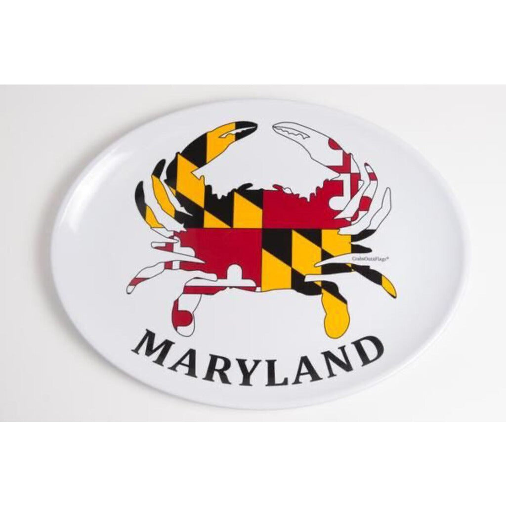 "Maryland Crab 16"" Oval Platter"