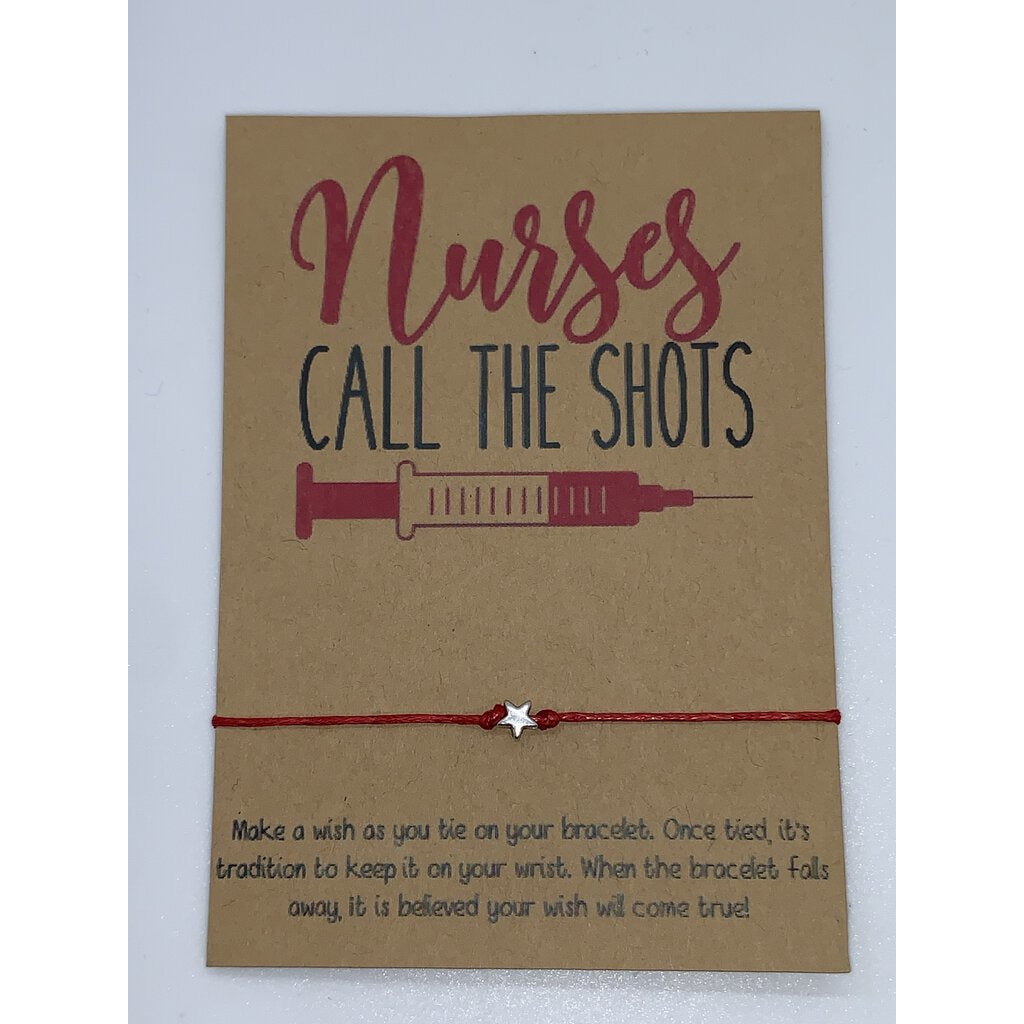 Wishlet Nurses Call the Shots Bracelet