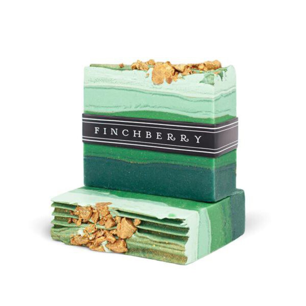 Finchberry Handcrafted  Vegan Soap Emerald