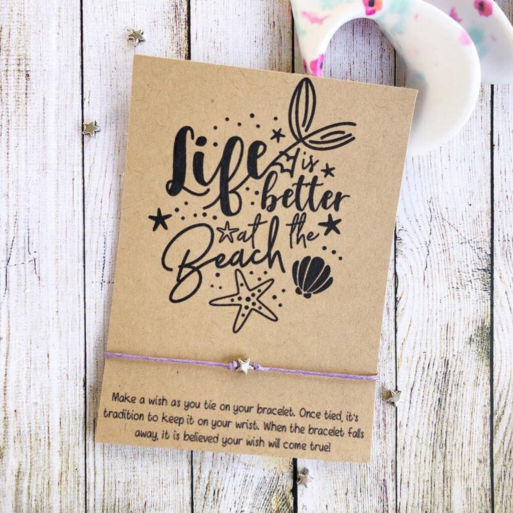 Wishlet Bracelet-Life is Better at the Beach