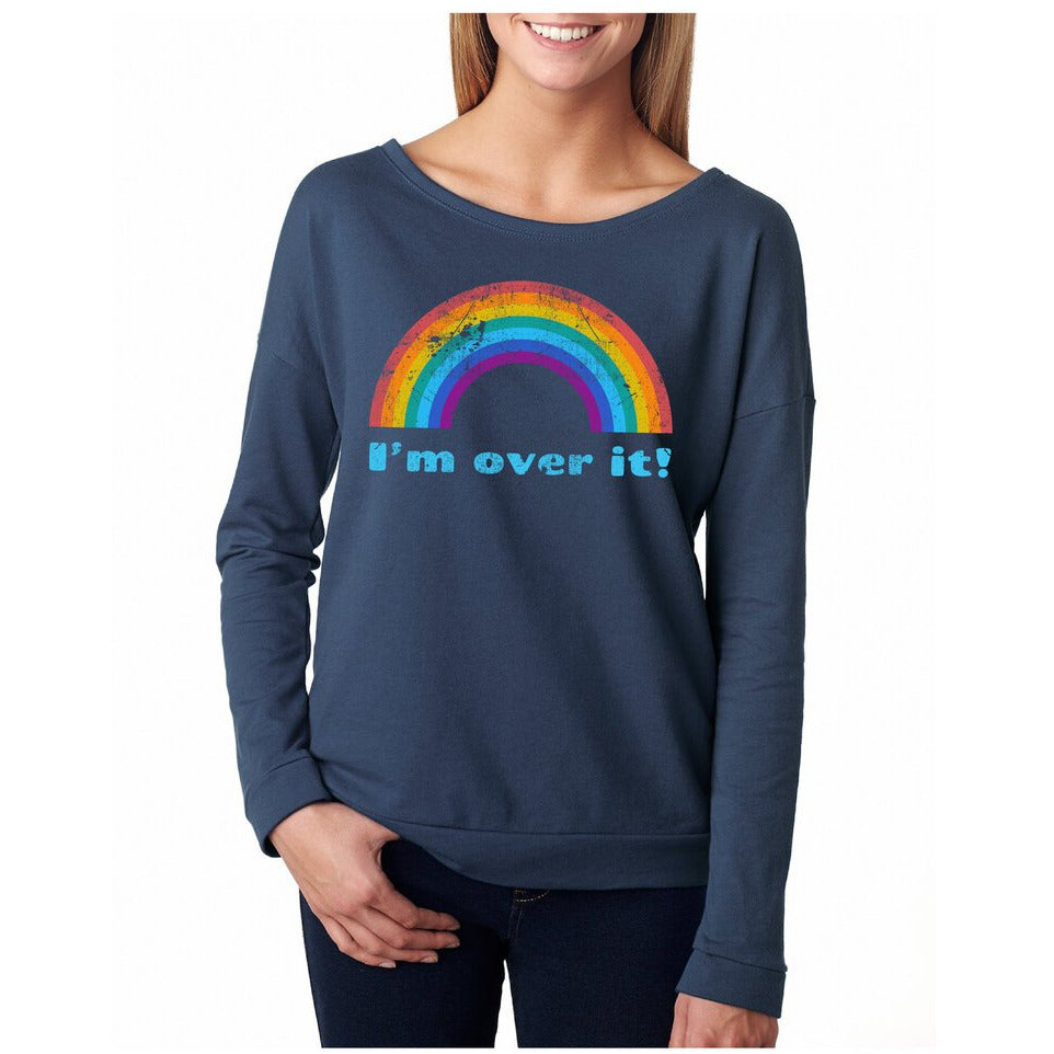 I'm Over It Rainbow Top-Small
