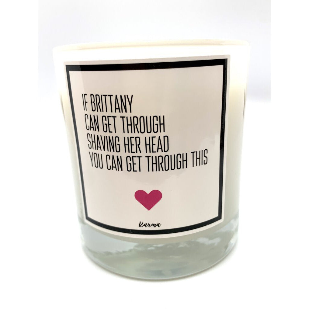 If Brittany Candle