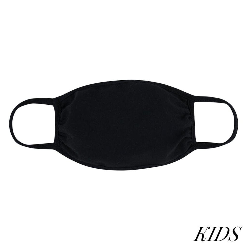 Face Mask-Black-KIDS
