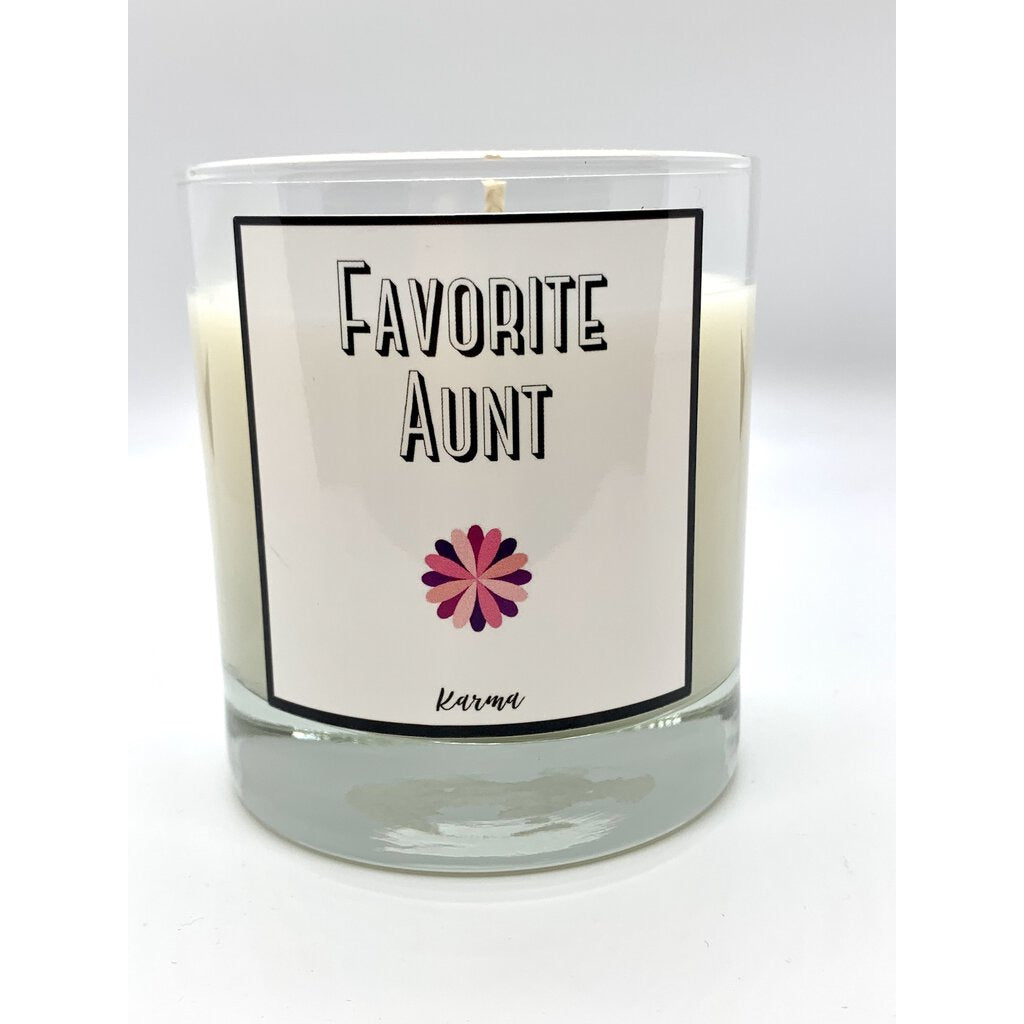 Favorite Aunt Candle