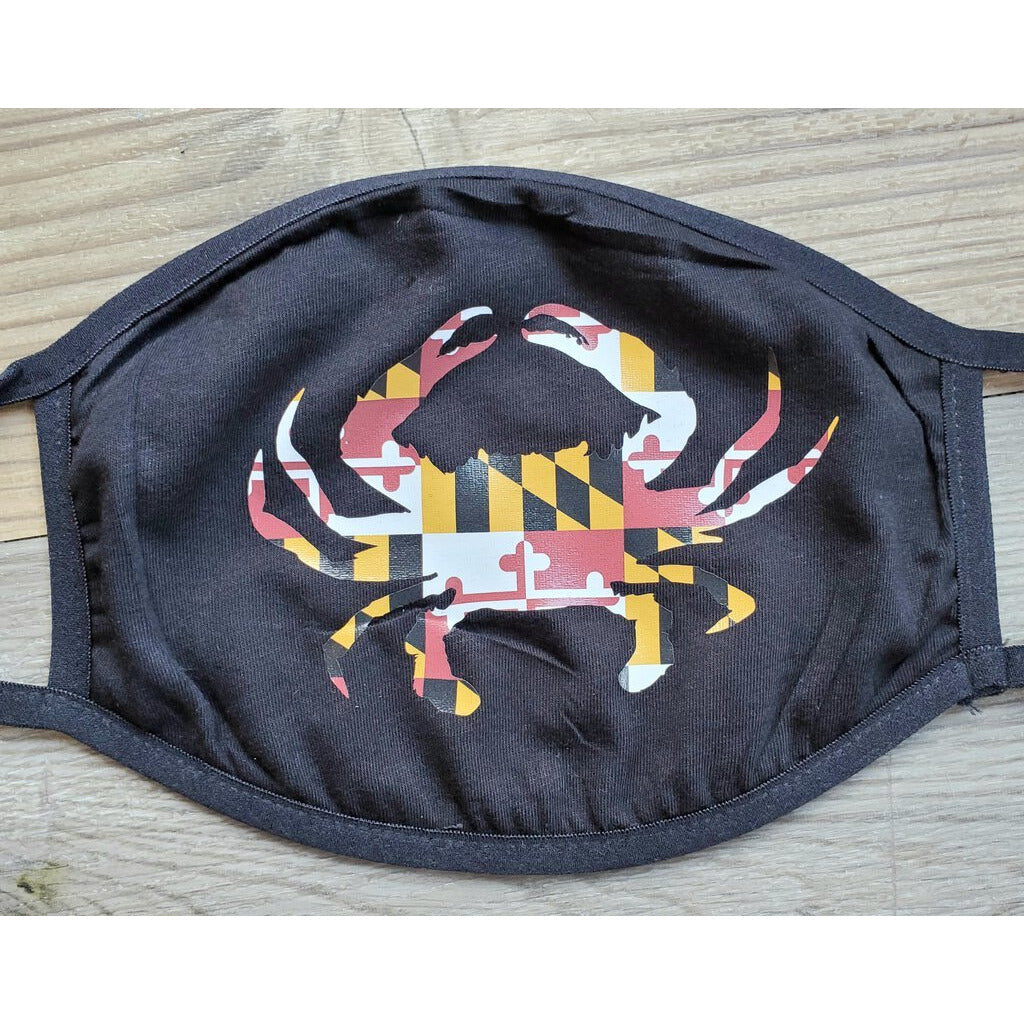 Face Mask-Maryland Crab-Adult