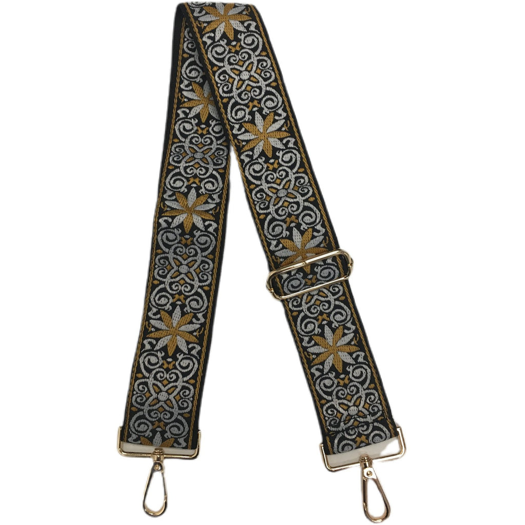 Floral & Solid Bag Straps
