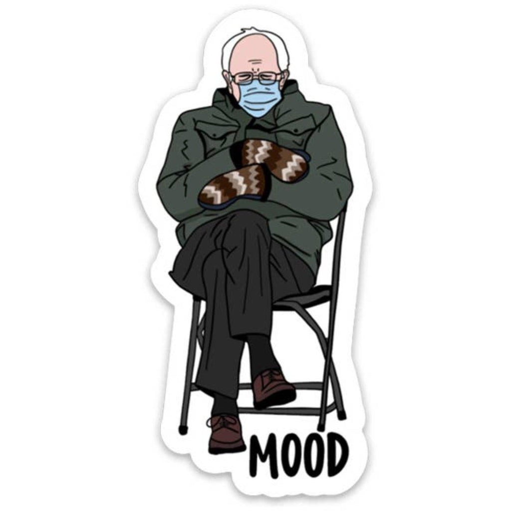Bernie Mood Sticker