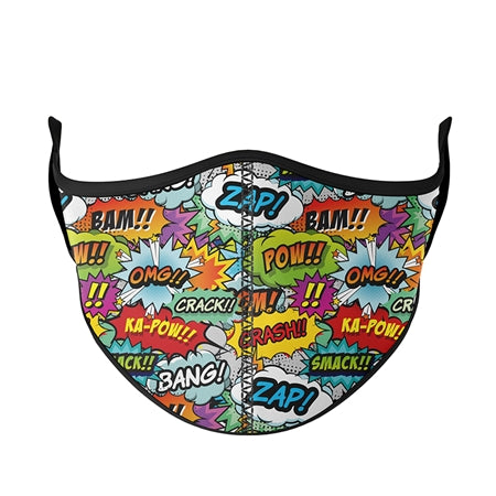 Face Mask-Prints & Patterns-Adult Adjustable