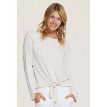 CozyChic Ultra Lite Tie Front Top