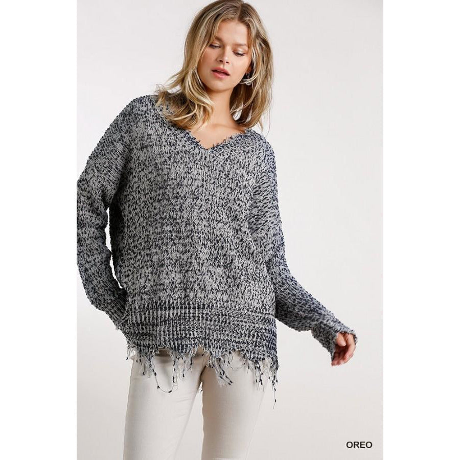 Isabelle V Neck Sweater