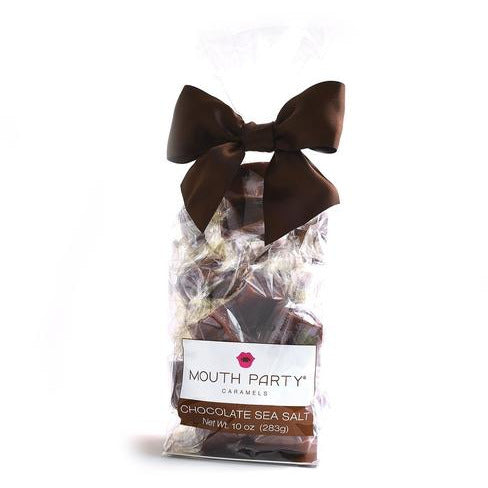 Mouth Party Chocolate Sea Salt Caramels 10oz