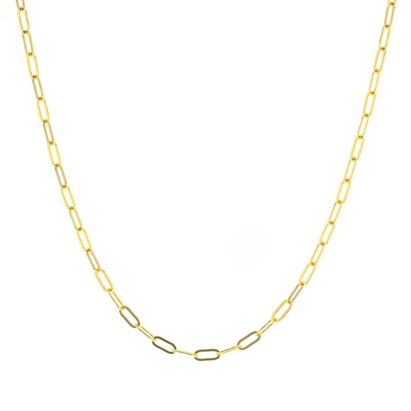 Lotus Gold Glossy Chain