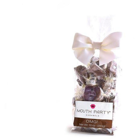 Mouth Party OMG Caramels 10oz Gift Bag