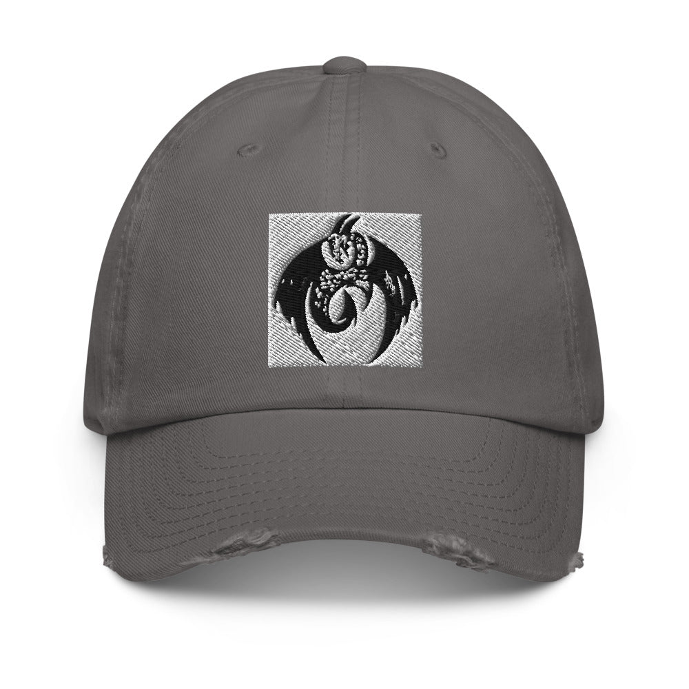 GTV Music Dragon Distressed Cap