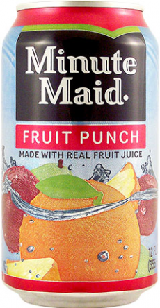 SOLD OUT Minute Maid Fruit Punch Can 12oz