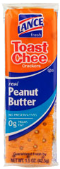 Lance Toast Cheese Peanut Butter 1.52 oz
