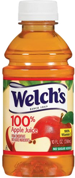 Welch's Apple Juice Bottle 10 oz