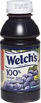 Welch's 100% Grape Juice Bottle 10 oz