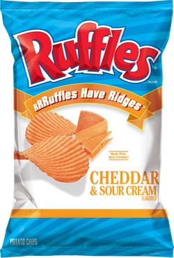 Ruffles Cheddar & Sour Cream 1.5 oz