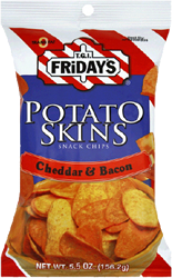 SOLD OUT TGIF Potato Skins Cheddar & Bacon 1 oz