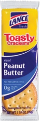 Lance Toasty Peanut Butter Cracker 1.25 oz