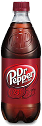 Dr. Pepper Bottle 20 oz