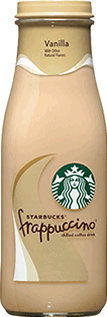SOLD OUT Starbucks Vanilla Frappuccino Bottle 9.5 oz