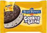 Blue Bunny Cookies N Cream Ice Cream Sandwich 4.5 oz