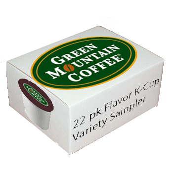 Green Mountain Coffee Flavor Sampler Variety K-Cup 22 ct