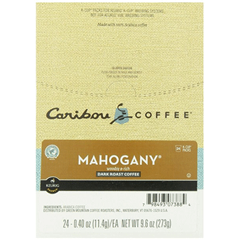 Caribou Coffee Mahogany K-Cups 24ct