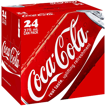 Coke Can 12 oz 24pk