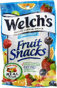 Welch's Fruit Snacks Mixed Fruit 2.25 oz