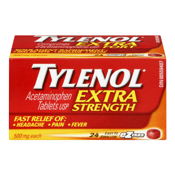 Tylenol Extra Strength Tablets 24 ct