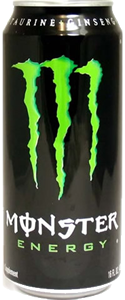 Monster Green Can 16 oz