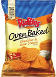 SOLD OUT Ruffles Oven Baked Cheddar & Sour Cream 0.8 oz
