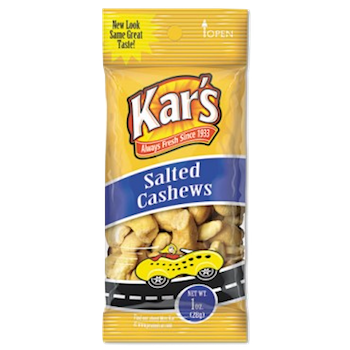 SOLD OUT Kar's Salted Cashews 1 oz