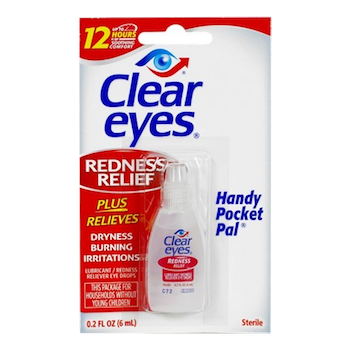 Clear Eyes Solution 0.2 oz