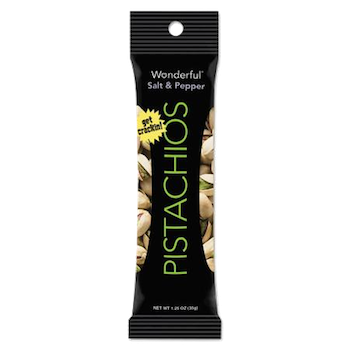 Wonderful Pistachios Roasted and Salted 1 oz