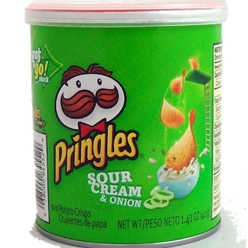 Pringles Sour Cream & Onion 1.4 oz
