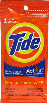 Tide Detergent Travel Size
