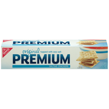 Premium Original Saltine Crackers 4oz.