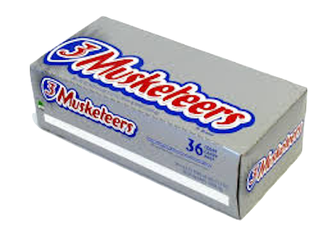 3 Musketeers 36ct