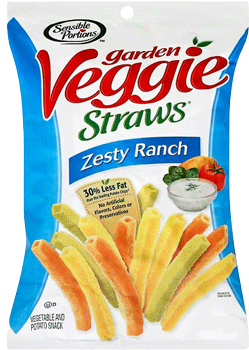 Sensible Portions Veggie Straws Zesty Ranch 1 oz