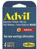 Advil 200 mg 4 ct