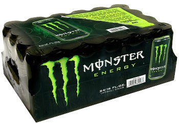 Monster Energy Green Can 16 oz 24 pk