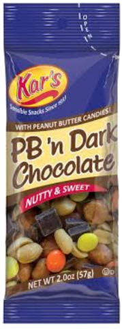 Kar's PB 'n Dark Chocolate Mix 2 oz
